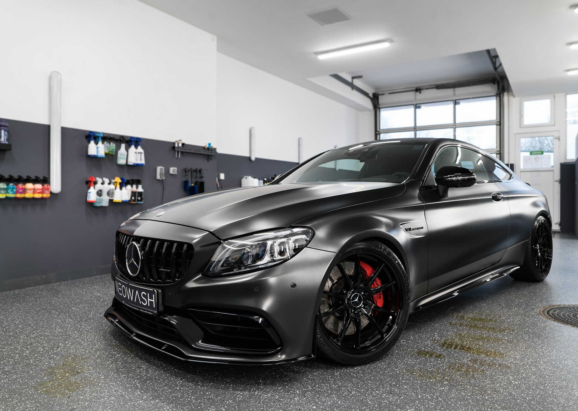 Mercedes Benz C63s AMG Coupe